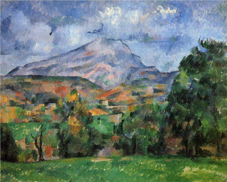 Góra ś. Wiktorii - obraz Paula Cezanne'a