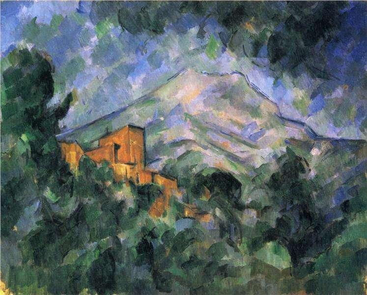 Góra Sainte Victorie - Cezanne