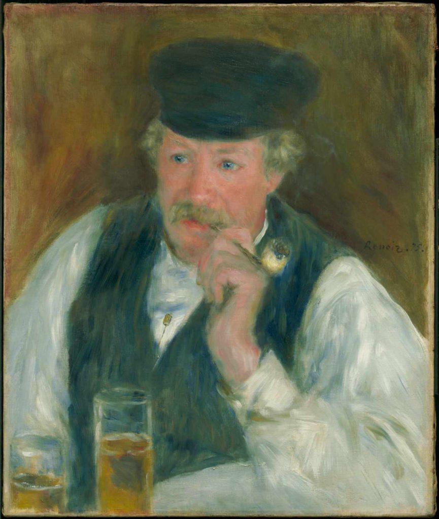 PÈRE FOURNAISE - Obraz Renoira